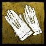 鹿革の手袋